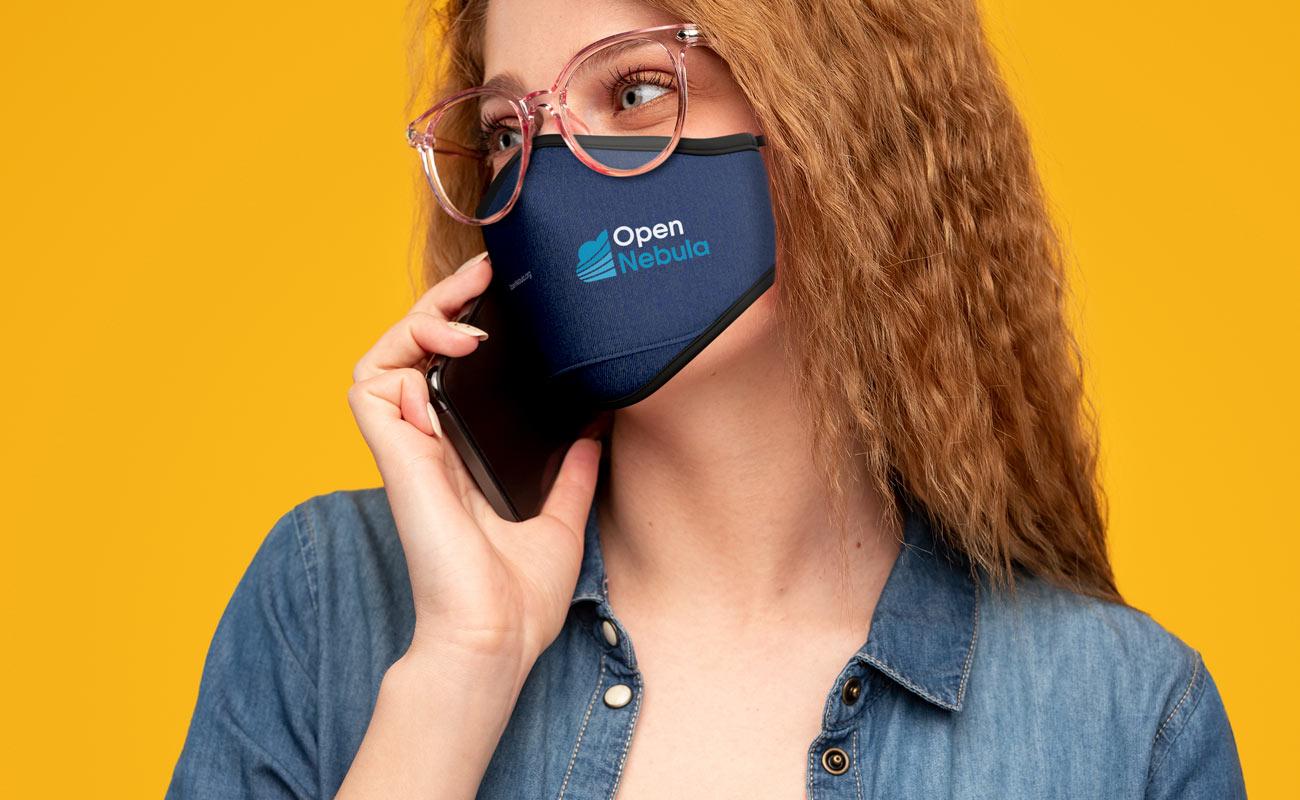 Denim - Masques protecteurs personnalisés