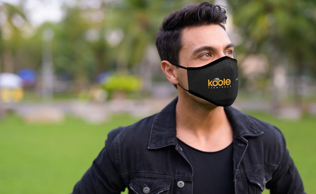 Denim - Masques réutilisables personnalisés