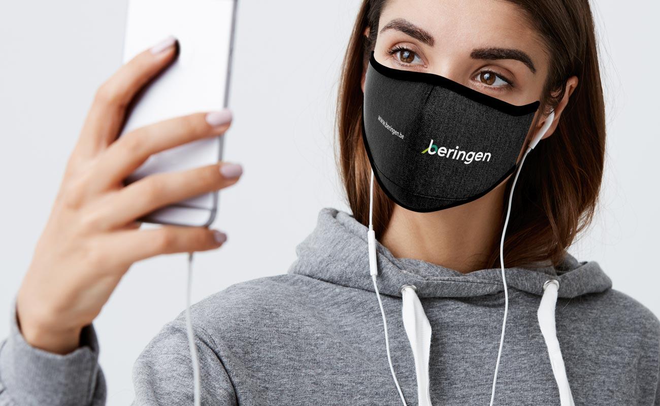 Denim - Masques réutilisables personnalisables