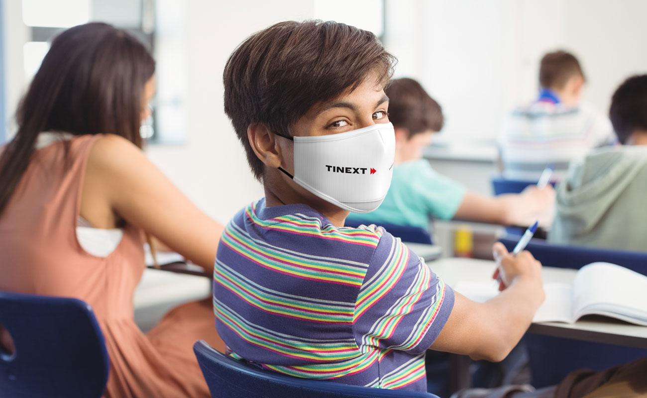 Junior - Masques réutilisables personnalisés