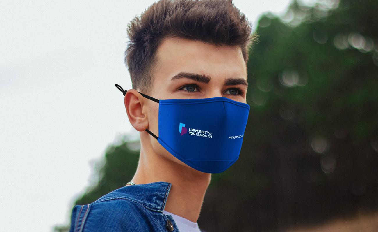 Junior - Masques imprimés avec logo