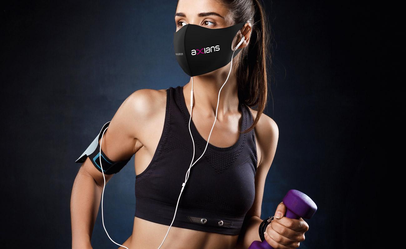 Neo - Masques imprimés avec logo