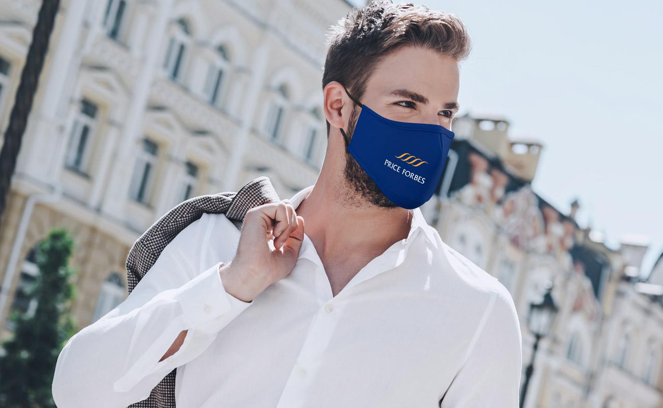 Sky - Masques réutilisables personnalisés