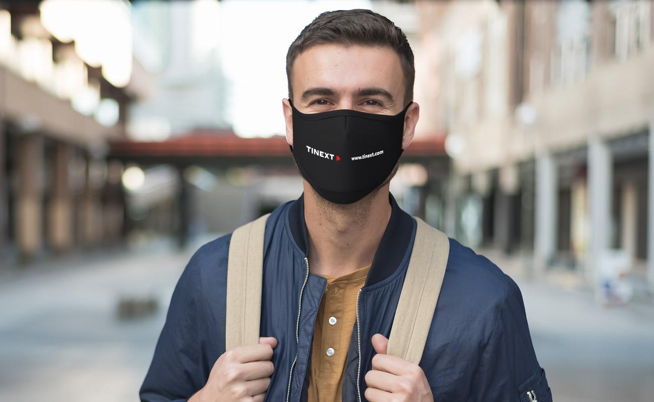 Sky Xtra - Masques imprimés avec logo