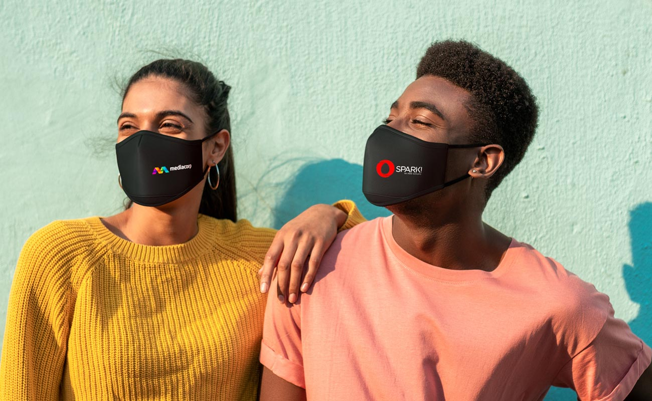 Sky iON - Masques protecteurs personnalisables