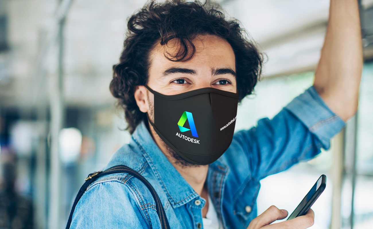 Sky iON - Masques réutilisables personnalisables